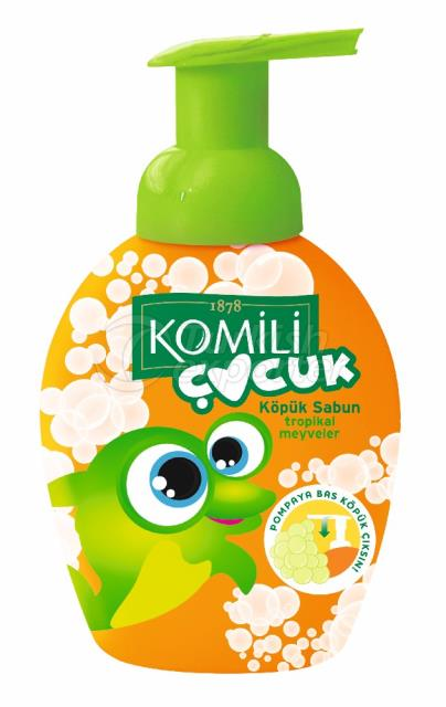 Komili Kids Foam Soap