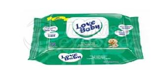 Wet Wipe Love Baby