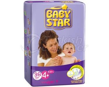 Baby Diaper BabyStar Maxi Plus