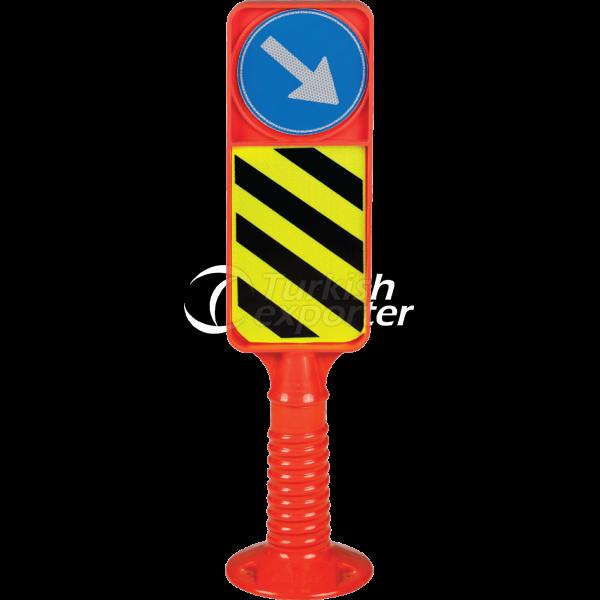 Traffic Island Sign 2601