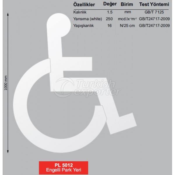 Handicapped Park Spot PL 5012