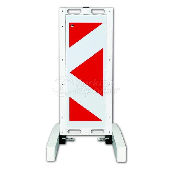 Folding Warning Barrier 12503