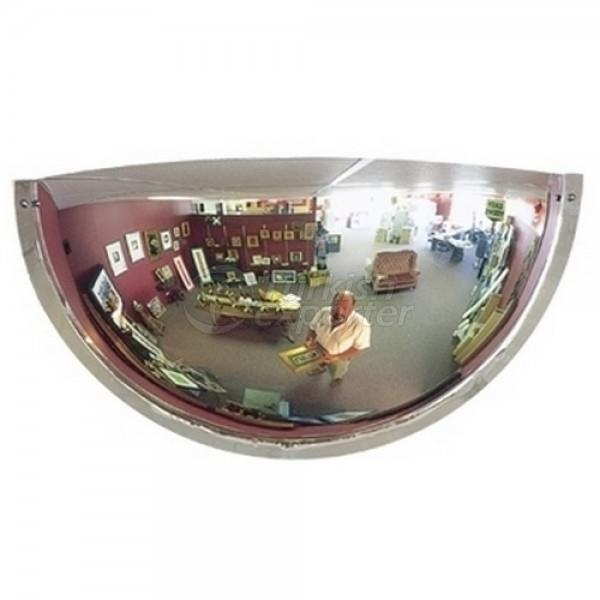 Half Domic Traffic Mirrors A66 - 80cm