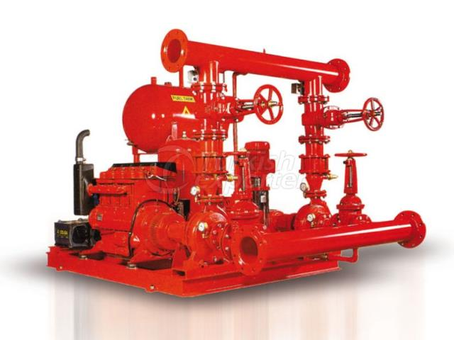 Fire Extinction Pumps Mas Daf YNM