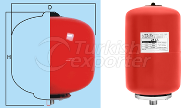Expansion Tank Wa-Tes Footless