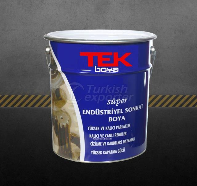 Tek Industrial Finishing Paint