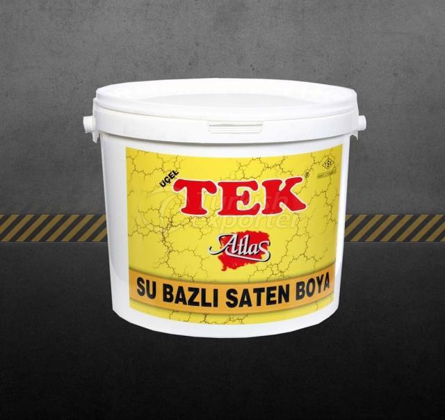 Tek Water-Based Satin Paint