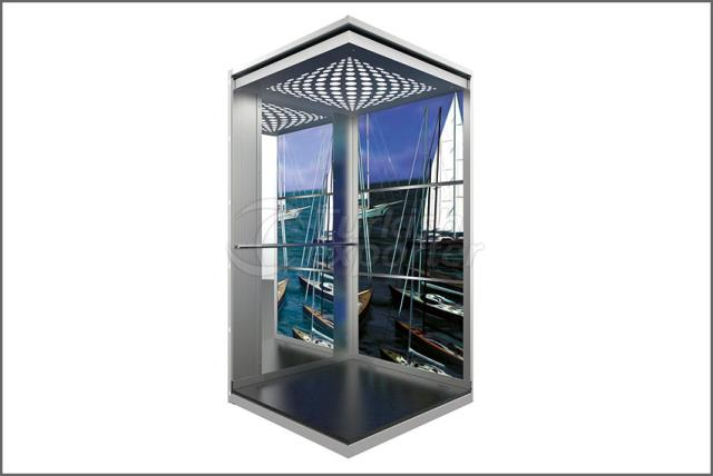 Elevator Cage Pictured Laminate