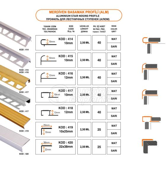 Stair Treads Profile