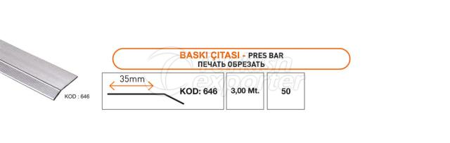 Press Bar Profile