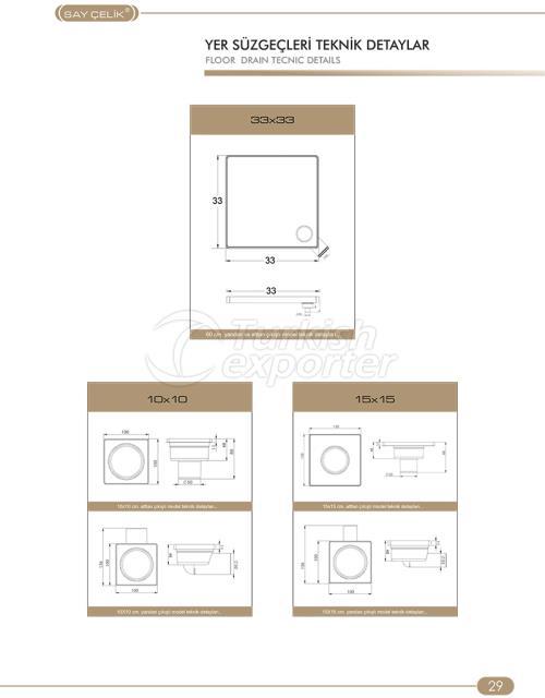Floor Drains Technical Details