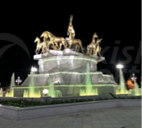 10 Horse Monument
