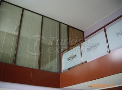 Glass Guardrails and Handrails