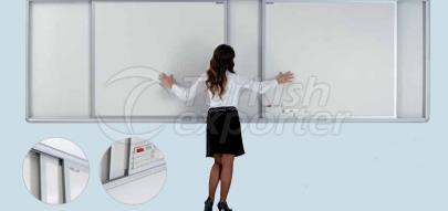 Wall Mounted Sliding Whiteboard