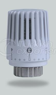 Flat Thermostatic Radiator Valve