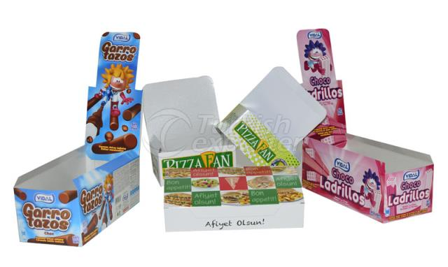 Cellophane Food Box