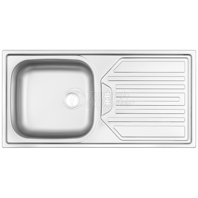 Stainless Steel Inset Sinks NR-119D