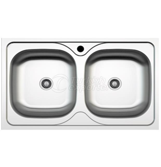 Stainless Steel Lay-On Sinks NR-040