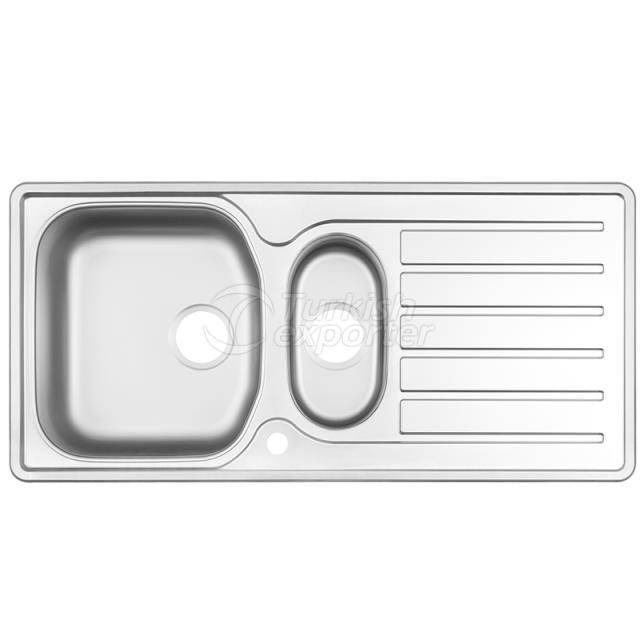 Stainless Steel Inset Sinks NR-117