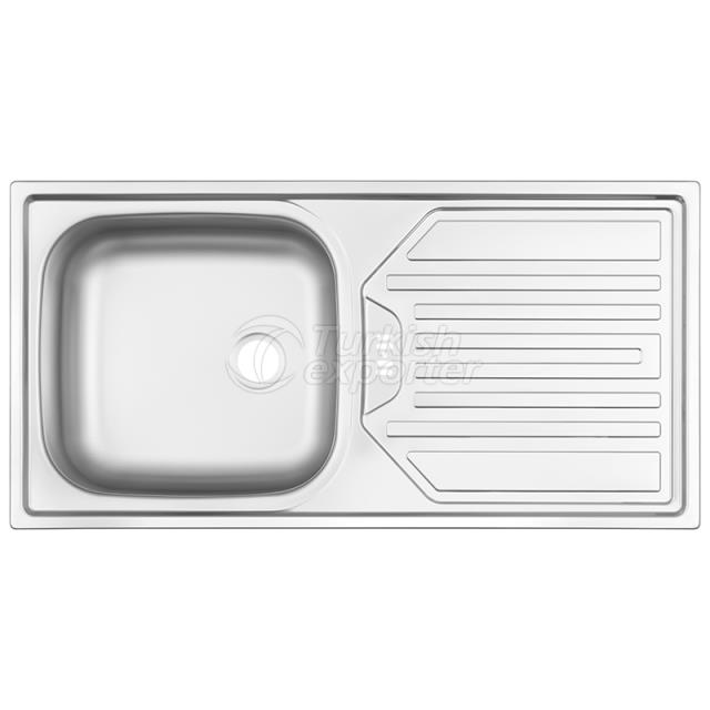 Stainless Steel Inset Sinks NR-122D