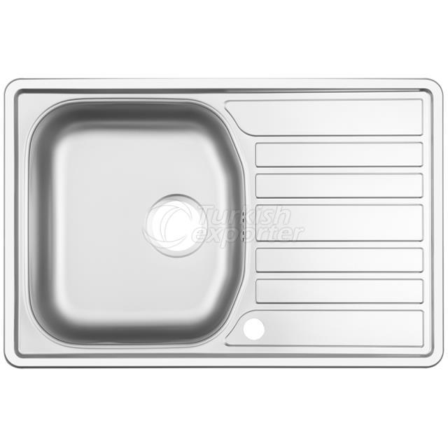 Stainless Steel Inset Sinks NR-101