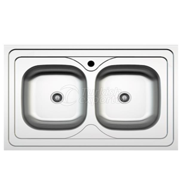Stainless Steel Lay-On Sinks NR-042