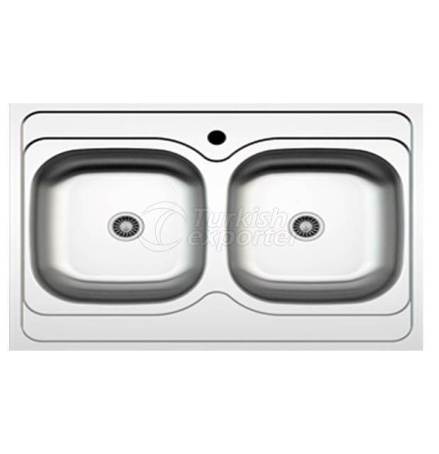 Stainless Steel Lay-On Sinks NR-041