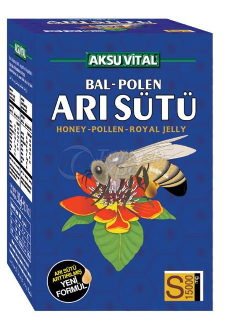 Honey-Polen-Royal Jelly