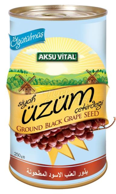 Ground Black Grape Seed