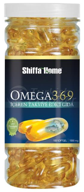 Omega3-6-9 Fish Oil Softgel