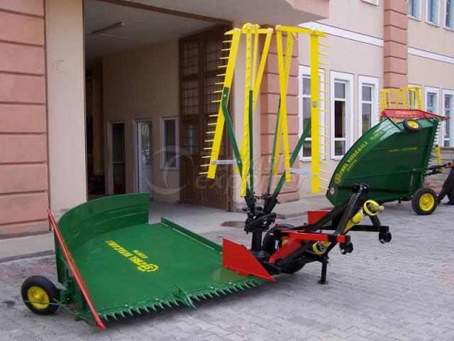 Winged Mowing Machine