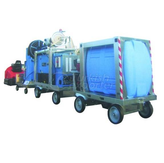Mobile Washing-Steam Units