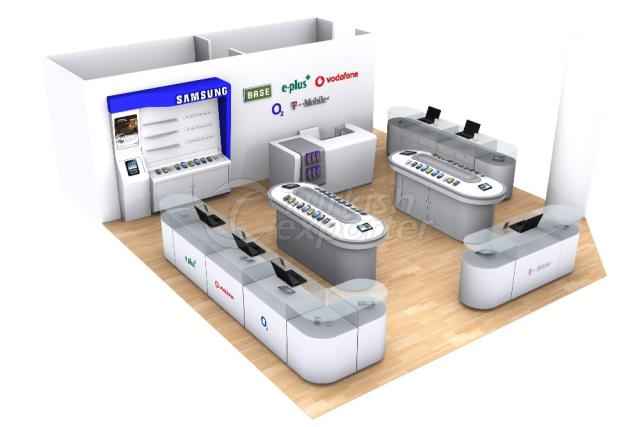 Messe Stand ms100