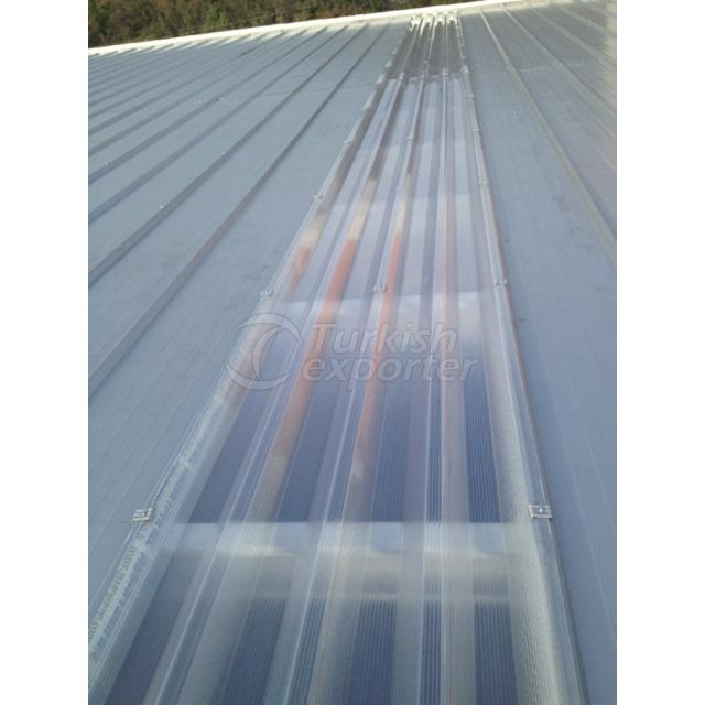 Polycarbonate Multiwall Roof Panel