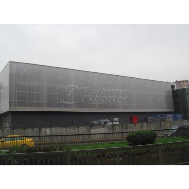 U-Lock System Polycarbonate Panels