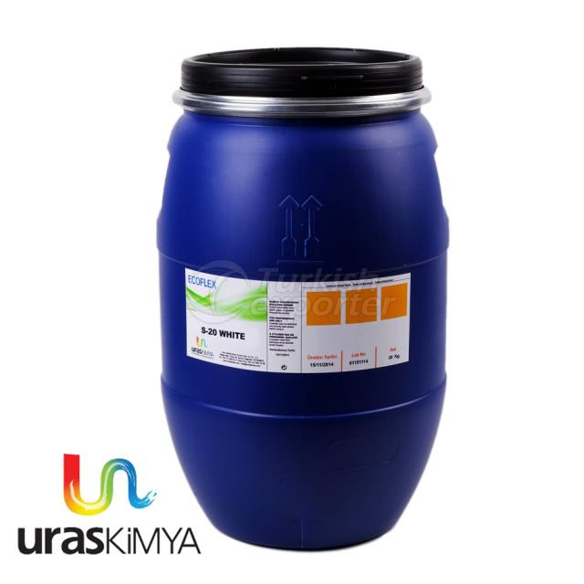 WATER BASED INK WHITE S 20