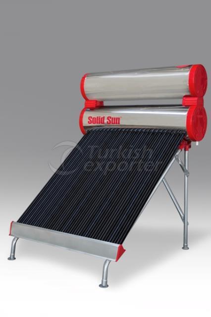 Chrome Full Tank Solar Energy 24 Tube