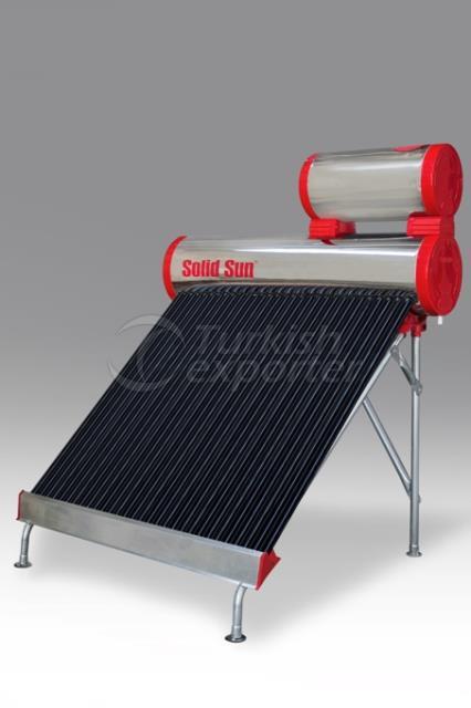 Chrome Half Tank Solar Energy 30 Tube