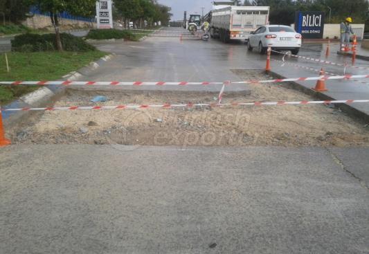 AOSB Crossroad Repair Works