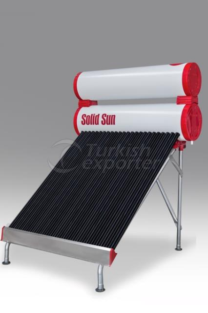 Half Tank Solar Energy 24 Tube