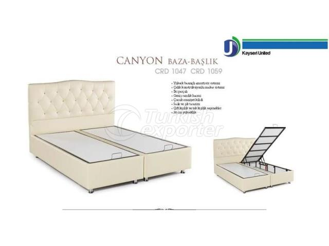 Bed Bases-Headboards Canyon