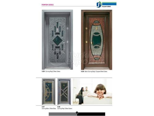 Steel Door Pompom