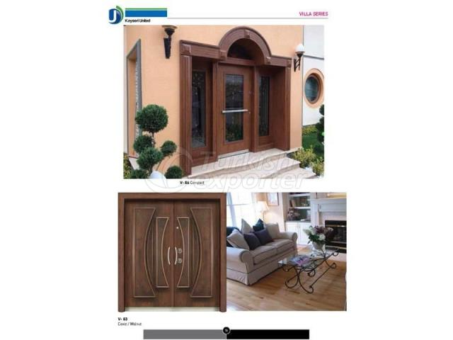 Steel Door Villa