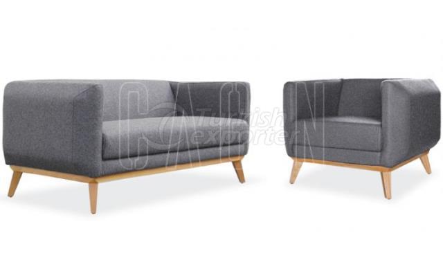 Sofa and Armchair Retro