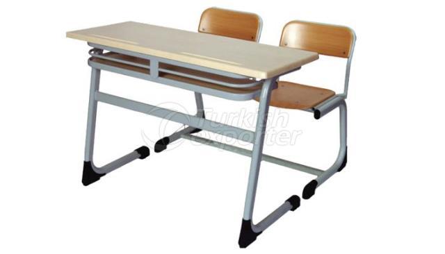 School Desk Double