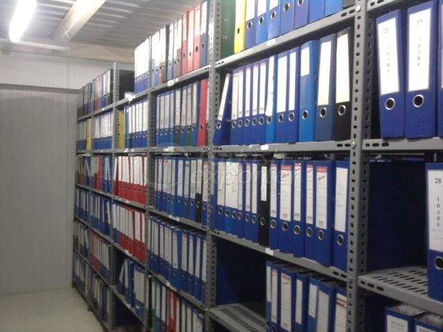 Slotted Angle Shelves