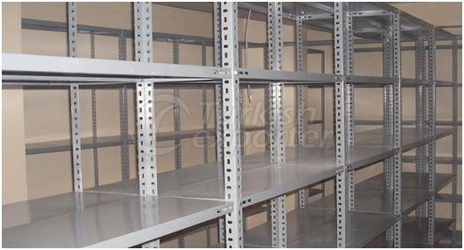 Slotted Angle Shelves