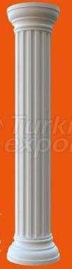 Grooved Round Column