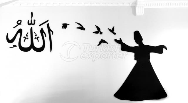 Whirling Dervish Sticker