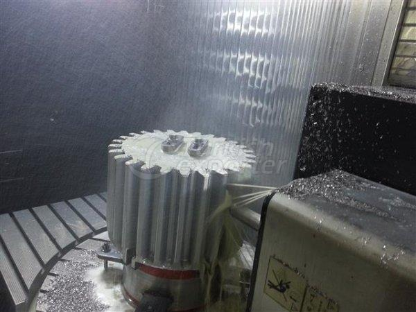 5-Axis CNC Gear Processing